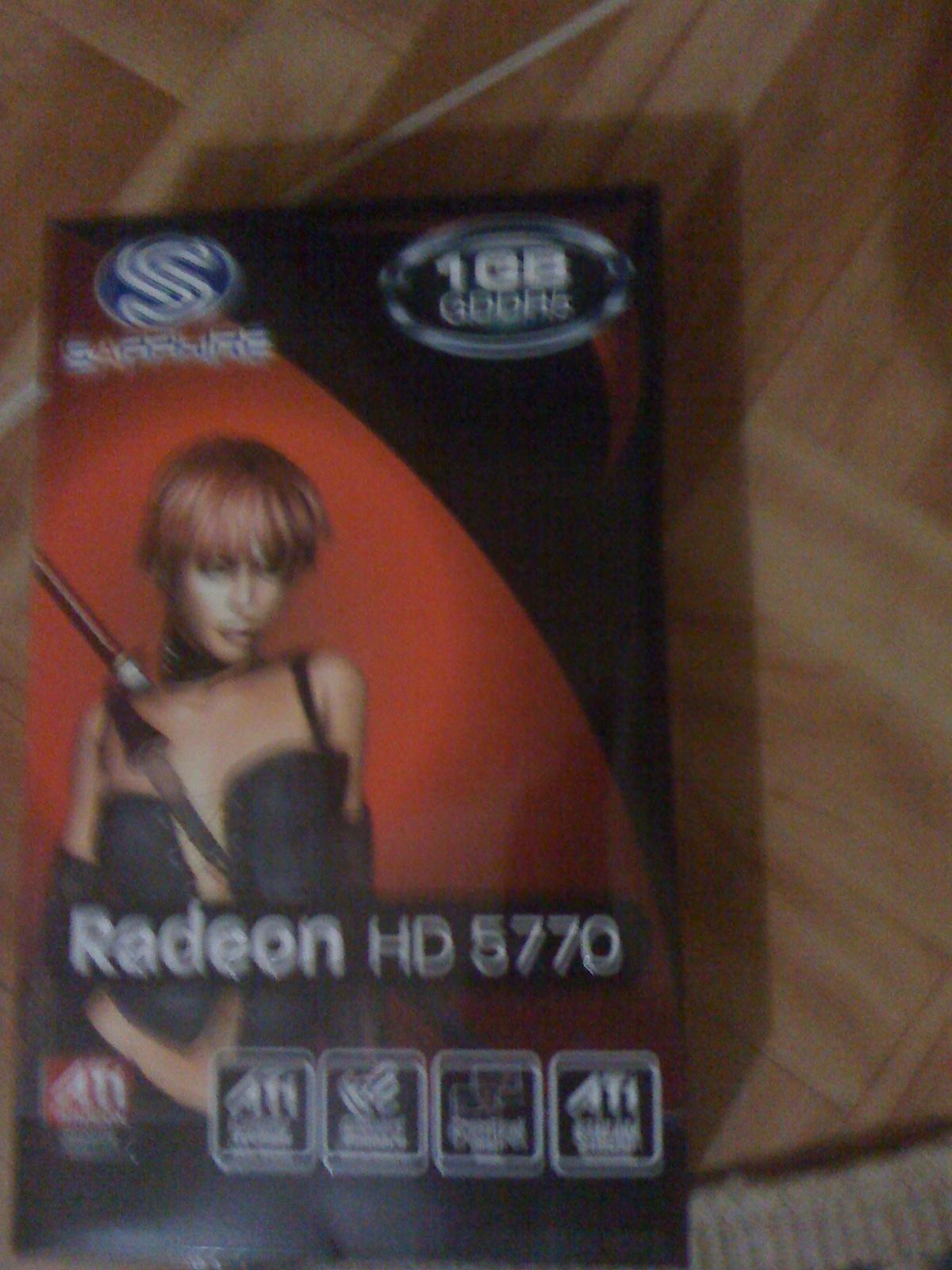Sapphire ATI Radeon 1Gb HD5770 128bit